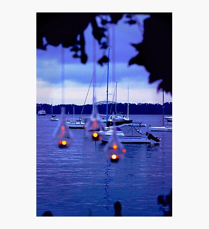 Candle Harbour Photographic Print