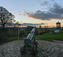 Calton Hill Cannon by Miles Gray