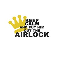 Put him out the airlock by neverenough