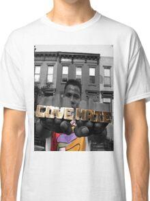 Radio Raheem - Love & Hate  Classic T-Shirt