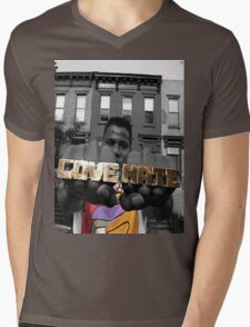 Radio Raheem - Love & Hate  Mens V-Neck T-Shirt