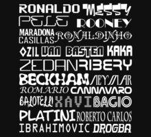 World Best Football Players [White] by V-Art