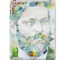 SIGMUND FREUD - watercolor portrait.8 iPad Case/Skin
