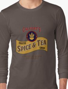 Calvert's Exotic Spice and Tea Shop Long Sleeve T-Shirt