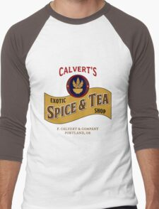 Calvert's Exotic Spice and Tea Shop Men's Baseball ¾ T-Shirt