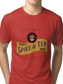 Calvert's Exotic Spice and Tea Shop Tri-blend T-Shirt