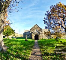 St Mary's Church ~ Tyneham Village by Susie Peek