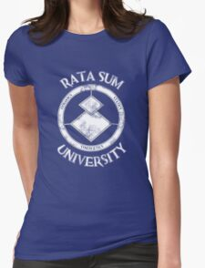 Rata Sum University Womens Fitted T-Shirt