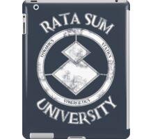 Rata Sum University iPad Case/Skin