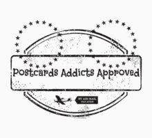 Postcards Addicts Approved Stickers by tropicalsamuelv