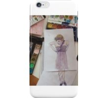 girl iPhone Case/Skin