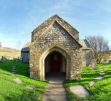 St Mary's Church 2 ~ Tyneham Village by Susie Peek