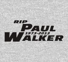 RIP Paul Walker Fast and Furious Logo by xnmex