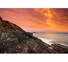 sky of fire Photographic Print