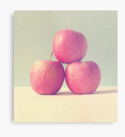 Apple Trio  Metal Print