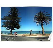 Seafront, Adelaide Poster