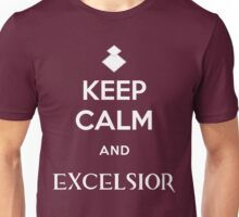 Keep Calm and Excelsior Unisex T-Shirt