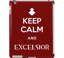Keep Calm and Excelsior iPad Case/Skin