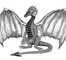 Dwaine the Dragon by HandsonHart