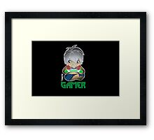 Gamer, GTA, RPG, Console, xbox, playstation, wii Framed Print