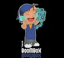 BoomBox, Music, Bass, Musical, HipHop, Beats, DJ  by TishatsuDesigns