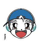 The Original Tishatsu Logo - Note, music, cute, face, anime, chibi, manga,  by TishatsuDesigns