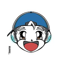 The Original Tishatsu Logo - Note, music, cute, face, anime, chibi, manga,  by TishatsuDesigns