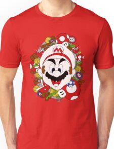 SuperMario a La Warhol Unisex T-Shirt