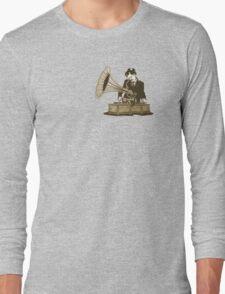 Gramophone Dj design Long Sleeve T-Shirt