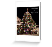 Lobster Trap Christmas Card Greeting Card