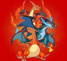 I Mega Charizard by coffeewatson