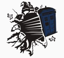 Doctor Who T-Shirts & Hoodies One Piece - Short Sleeve