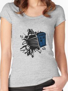 Doctor Who T-Shirts & Hoodies Women's Fitted Scoop T-Shirt