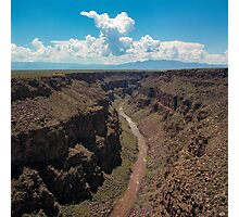 Rio Grand Gorge Photographic Print