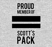 PROUD MEMBER OF SCOTT'S PACK Zipped Hoodie