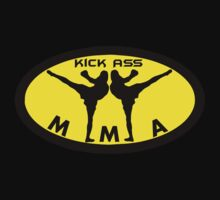 Kick Ass MMA - Mixed Martial Arts by AlphaAttire