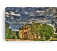 Normanby Hall HDR Canvas Print