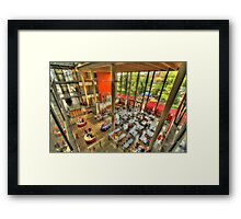 University of Lincoln HDR Framed Print