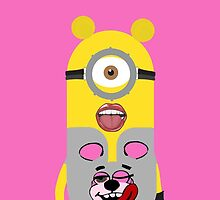 miley cyrus minion - pink by theonlynonam