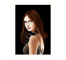 Dr Who's Amy Pond Art Print