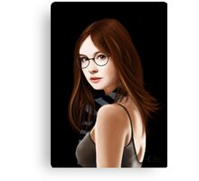 Dr Who's Amy Pond Canvas Print