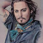 Johnny Depp by MelannieD