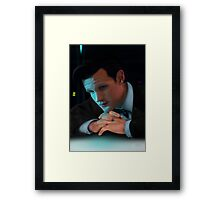 Dr Who Matt Smith Framed Print