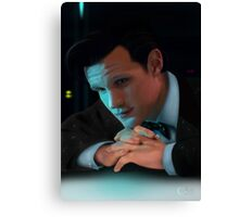 Dr Who Matt Smith Canvas Print