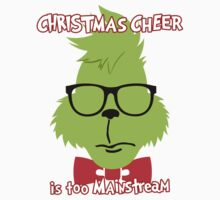 Hipster Grinch 2 Kids Clothes