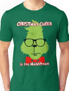 Hipster Grinch 2 Unisex T-Shirt