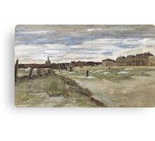 Vincent Van Gogh  - Bleachery at Scheveningen, 1882 Canvas Print