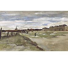 Vincent Van Gogh  - Bleachery at Scheveningen, 1882 Photographic Print