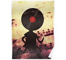 Vinyl Man! Vinylized!!! Vinyl Records DJ Retro Music Lovers T-Shirt Stickers Prints Poster