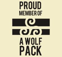 PROUD MEMBER OF A WOLF'S PACK T-Shirt